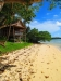 Sand beach in front of Large Deluxe Bungalow